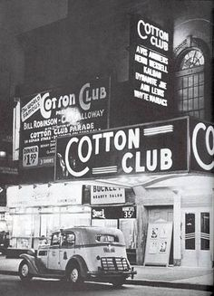 Cotton Club, New York City. Photo: Cotton Club Opened as Club DeLux on Street and Lenox Avenue by Jack Johnson in After the club failed, John. Old Photos, Vintage Photos, Vintage Signs, Duke Ellington, Harlem Renaissance, Renaissance Wedding, Vintage New York, Vintage Black, African American History
