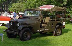 1953 Willys M170 Jeep Military Ambulance