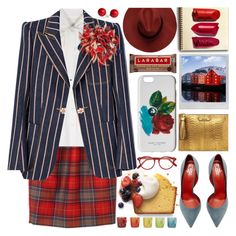 """WS"" by barbarela11 ❤ liked on Polyvore featuring Dolce&Gabbana, Polaroid, Santoni, Marc Jacobs, Cutler and Gross and Le Creuset"