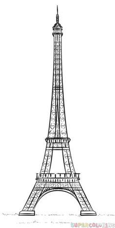 transparent eiffel tower silhouette png clip art image schablone pinterest eiffelturm. Black Bedroom Furniture Sets. Home Design Ideas