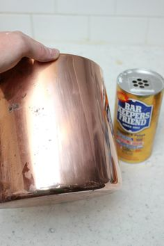 How to clean copper.