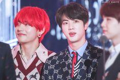 V y jin Jimin, Bts Jin, Bts Bangtan Boy, Bts Boys, Korean Music Awards, Seoul Music Awards, Billboard Music Awards, Otp, V And Jin