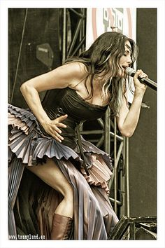 Sharon den Adel from Within Temptataion
