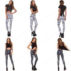Find More Yoga Pants Information about English Newspaper Pencil Pants Trousers…