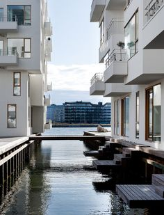 "The residential area ""Havneholmen"" (The Harbour Isle) in #Copenhagen. Photo by: Adam Mørk"