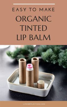 Tinted lip balm is a great alternative to bold lipstick and makes me feel more put-together than just regular lip balm. Here's how to make it! Homemade Lip Balm, Diy Lip Balm, Tinted Lip Balm, Lip Tint, Lip Balm Recipes, Best Lip Balm, Natural Beauty Recipes, Lip Balm Tubes, The Balm