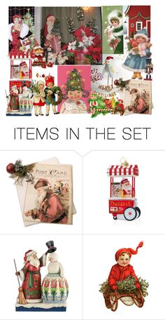 """""""Christmas!"""" by kaori00 ❤ liked on Polyvore featuring art"""