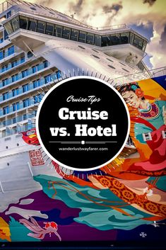 Wondering if you should book a #cruisecabin or an all-inclusive getaway at a #hotel? Find out why #cruising is the better choice.