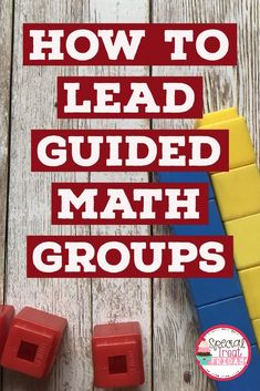 How to lead Guided Math Groups or math small groups in first, second, and third grades. - Life and hacks Math Rotations, Math Centers, Sets Math, Guided Math Groups, Math Intervention, Second Grade Math, Grade 2, Fourth Grade, Math Concepts