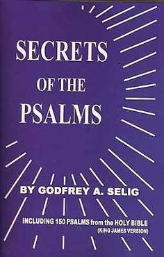 SECRETS OF THE PSALMS by godfrey Selig - Wicca Witch Pagan Goth