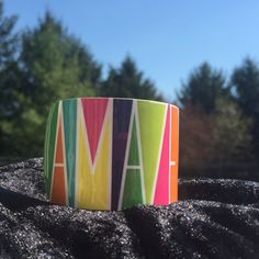 "Amaze yourself. Inspirational cuff Colorful metal cuff bracelet inspirational statement ""amaze yourself"" measures 1 1/2 inches wide.  And Is adjustable. Jewelry Bracelets"