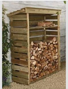 1000 ideas about abri bois on pinterest outdoor spaces - Construire son abri de jardin en palette ...