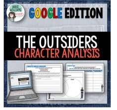 THE OUTSIDERS - A easy to use set of graphic organizers to help students…