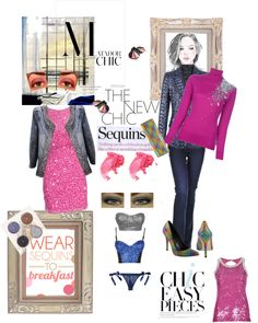 """""""Sequins: The New Matador Chic!"""" by monica-jordan on Polyvore"""