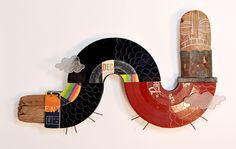 """""""Extended Play"""" mixed media. By Wade Mickley"""