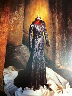 """From """"The Cell"""" (2000) worn by Jennifer Lopez as Catherine Deane design by Eiko Ishioka and April Napier"""