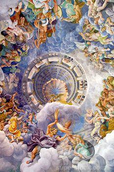 mantova, palazzo te, camera dei giganti, Mantova, province of Mantova , LOMBARDY Italy -