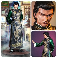 "Sega All-Stars Shenmue Lan Di 1:6 Scale Statue: ""Get up... I'll allow you to die like a warrior."" Shenmue's lead antagonist and Ryo's nemesis! Lan Di is a numbered limited edition of only 750 pieces! The 12-inch tall statue includes an alternate right arm."