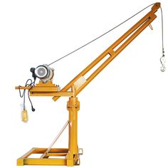There is no doubt that mini construction cranes greatly save manpower and improve the lifting efficiency, especially be suitable for areas with small windows. Lifting Devices, Crane Lift, Polaroid, Small Windows, Civil Engineering, Scissors, Tech, Construction, Tools