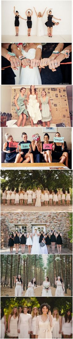 30 Totally Fun Wedding Photo Ideas and Poses for Your Wedding Party: http://www.confettidaydreams.com/wedding-photo-ideas-and-poses-for-your-wedding-party