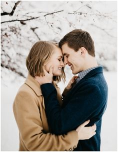 Olivia and Brandon, Snowy Couple's Session in Provo, Utah Couple Picture Poses, Couple Posing, Couple Pictures, Engagement Pictures, Engagement Shoots, Selfies, Entertainment Center Decor, Winter Engagement, Pictures To Draw