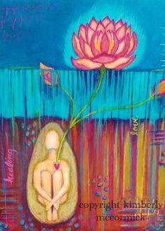 acrylic painting #kimberlymccormick #artbykimberly #lotus #healingart #contemporarychristianart #propheticart #houstonartist #spiritualart #acrylicartist #texasartist #estyshopowner #etsyartist #floralart #createdtocreate #propheticartist