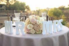#letras #noivos #casamento #ideias #decoracao