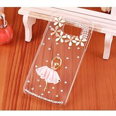 Crystal Luxury Diamonds Ballerina Girl Cases for Samsung Galaxy S6/S6 edge Plus