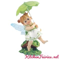 Shamrock Fairie - From Series Twenty Four of the My Little Kitchen Fairies collection