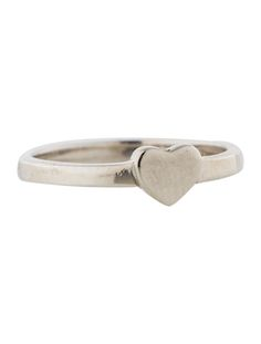 Tiffany & Co.Silver Heart  Ring