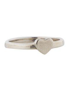 Tiffany & Co.Silver Heart Ring
