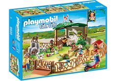 Playmobil City Life Children's Petting Zoo $53.99 Playmobil Australia | www.minizoo.com.au