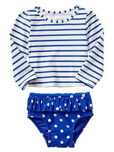 Paddington Bear™ for babyGap mixed-print rashguard -