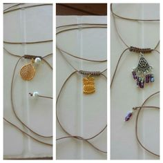 Macrame necklace #handmadebyme