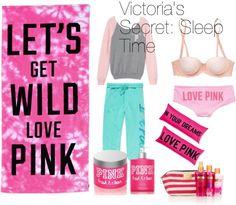 """Victoria's Secret: Sleep Time"" by beautydesk on Polyvore"