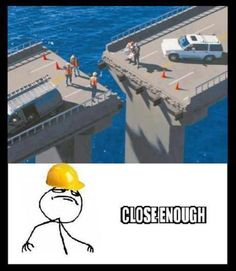 Trendy Funny Fails You Had One Job Hilarious Stupid Funny Memes, Funny Fails, Haha Funny, Funny Posts, Funny Cute, Funny Stuff, Job Memes, Job Humor, Construction Fails