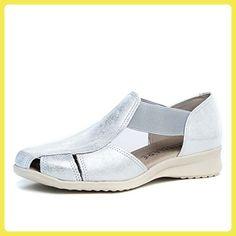 Damen Sandalen, Beige - Silber - Größe: EU 38 Pitillos