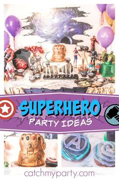 Check out this awesome Avengers Infinity War 4th Birthday Party! Love the Infinity Gauntlet birthday cake!! See more party ideas and share yours at CatchMyParty.com #catchmyparty #partyideas #avengersinfinitywarbirthdayparty #superherobirthdayparty #marvelsuperherosbirthdayparty #boybirthdayparty #avengers #guardiansofthegalaxy #ironman #spiderman