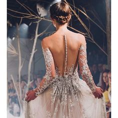 Close up view on Paolo Sebastian wedding gown Bridal Gowns, Wedding Gowns, Lace Wedding, Evening Dresses, Prom Dresses, Formal Dresses, Backless Dresses, Spring Dresses, Beautiful Gowns