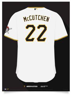 Pirates Andrew McCutchen Jersey Poster