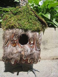 baba yaga bird house