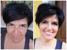Trucco per donne over40 - occhio coperto da piega palpebrale - YouTube