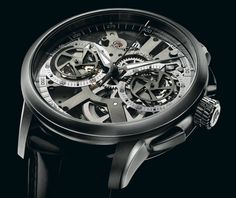 Maurice Lacqoix Masterpiece Squelette Le Chronograph - Limited Edition. For those that love to see the inner workings of their timepiece...