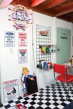 憧れ♡アメリカンガレージ。うちのガレージをアメリカンにする5つのアイテム| iemo[イエモ]