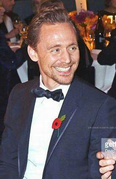 Tom at the 2016 Evening Standard awards