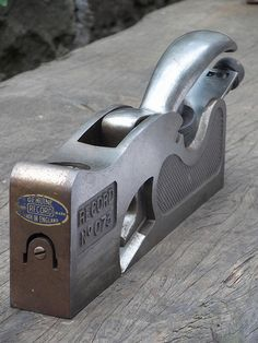 RECORD No. 073 Shoulder Rebate Plane