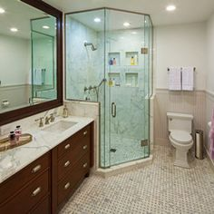 President's Residence - Northwestern University - traditional - bathroom - chicago - thea home inc