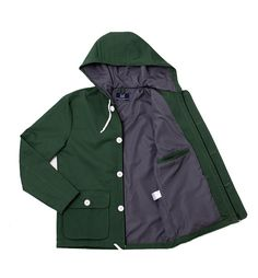 Sunday Morning Lightweight Mens Forest Green Coat Jacket $125
