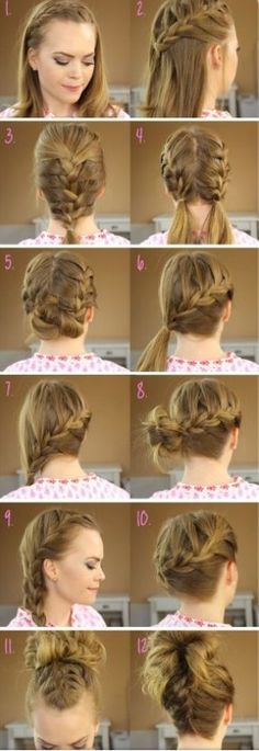 Absolutely Easy French Braid Tutorial by amelia Braided Hairstyles Tutorials, Pretty Hairstyles, Easy Hairstyles, Braid Tutorials, French Hairstyles, Hairstyle Ideas, Hair Ideas, Hairdos, Wedding Hairstyles