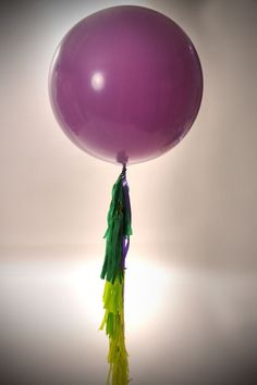 "Big 36"" balloon with tassel $30"